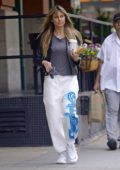 Heidi Klum sports a no make-up look as she steps out for breakfast in New York City