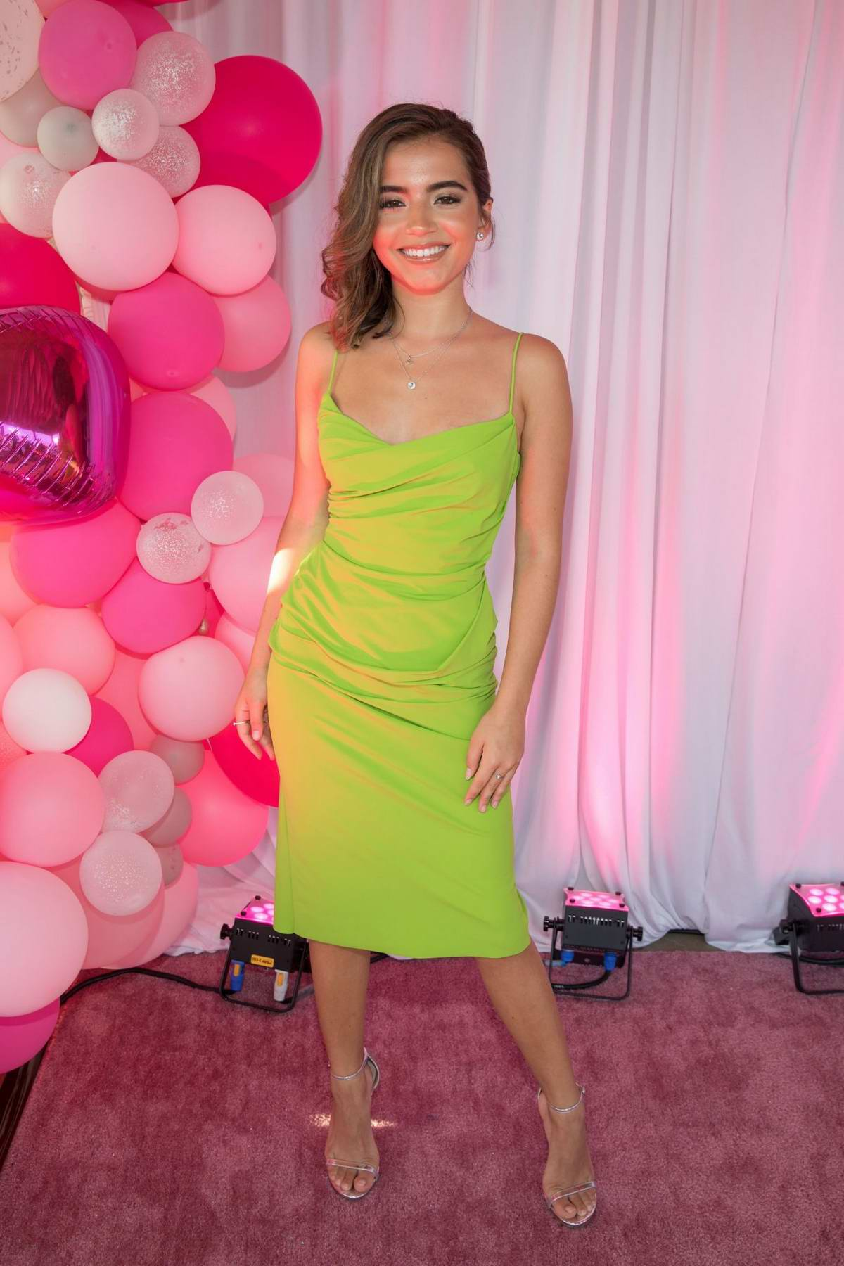 Isabela Moner attends the Teen Vogue's Sweet 16 at The LINE Austin in Austin, Texas