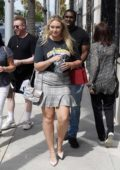 Iskra Lawrence and boyfriend Philip Payne spotted during a shopping trip to the Cartier Store in Beverly Hills, Los Angeles