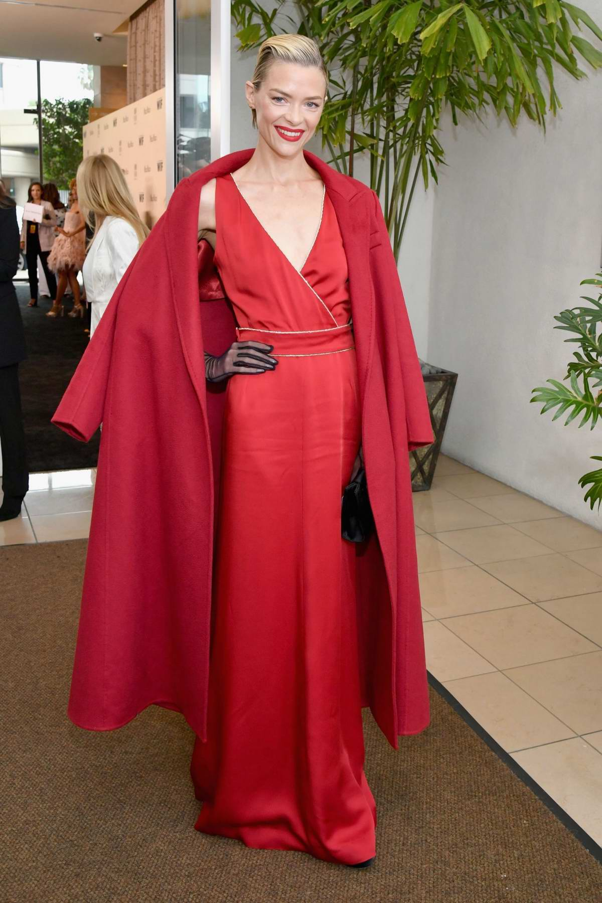 Jaime King attends the Women in Film Annual Gala presented by Max Mara at The Beverly Hilton Hotel in Los Angeles