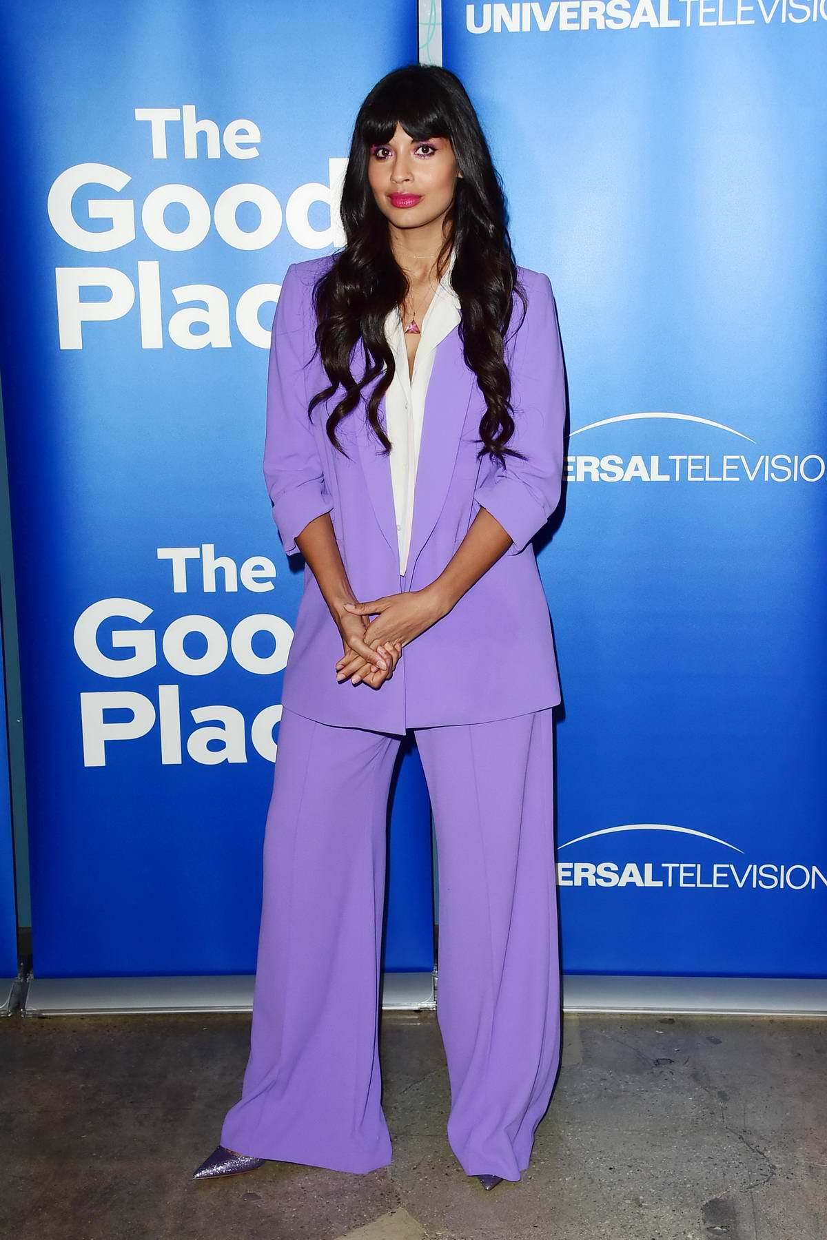 Jameela Jamil attends 'The Good Place' FYC Event in Los Angeles