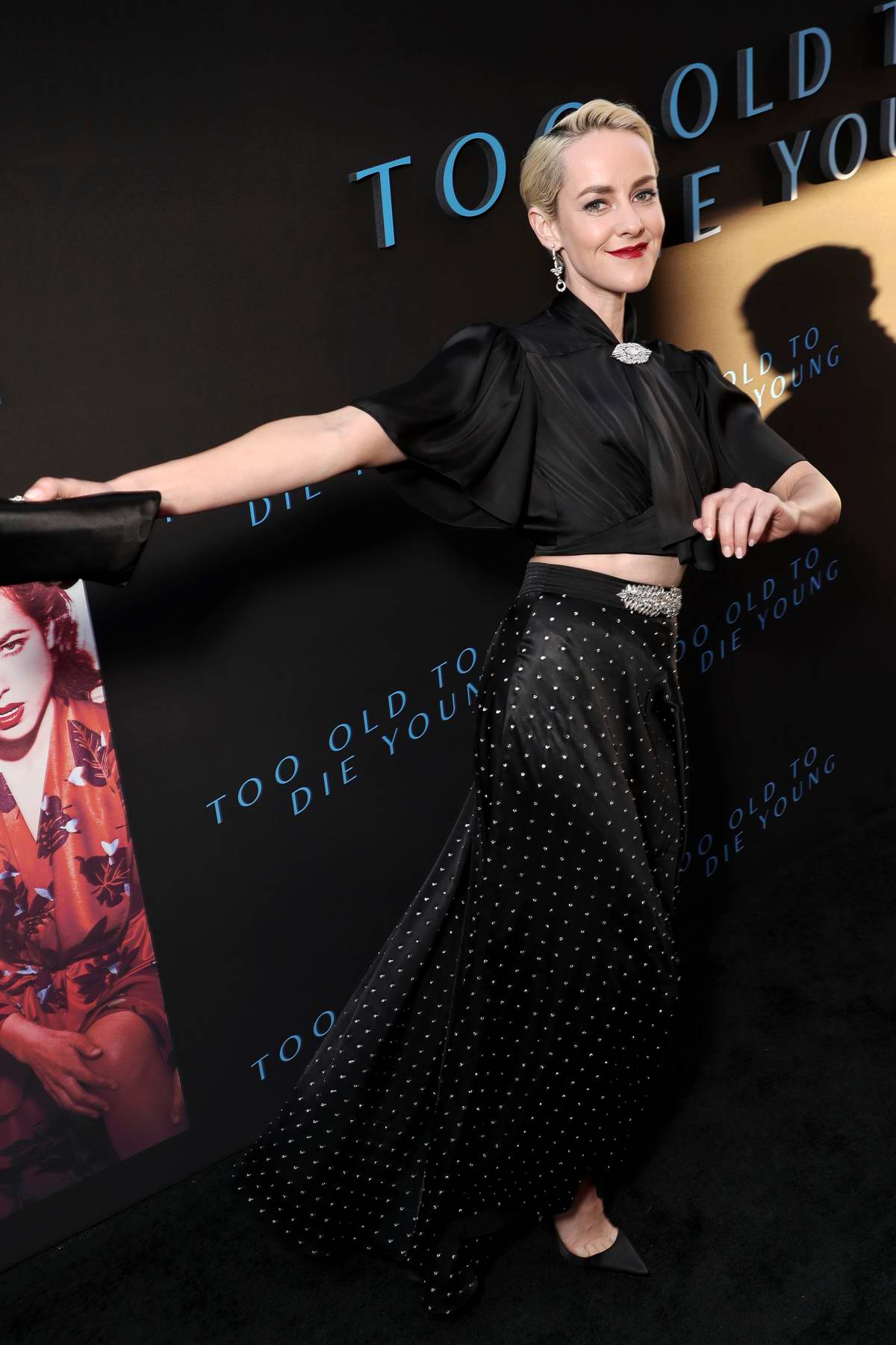 Jena Malone attends the special screening of 'Too Old To Die Young' in Los Angeles