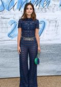 Jenna Coleman attends The Summer Party 2019 at Serpentine Gallery at Kensington Gardens in London, UK
