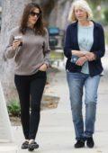 Jennifer Garner steps out for stroll with Ben Affleck's Mom in Santa Monica, California