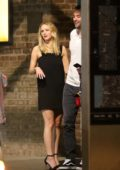 Jennifer Lawrence and Cooke Maroney have a dinner date at Del Pesto in New York City