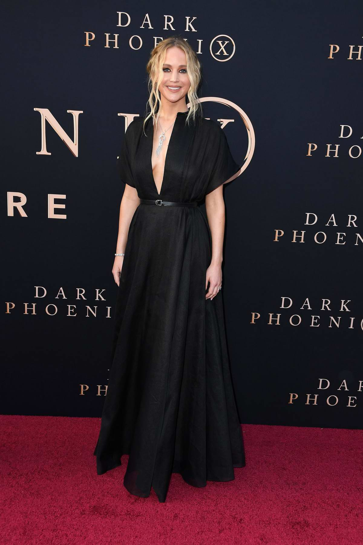 Jennifer Lawrence attends 'X-Men: Dark Phoenix' premiere at TCL Chinese Theatre in Hollywood, California