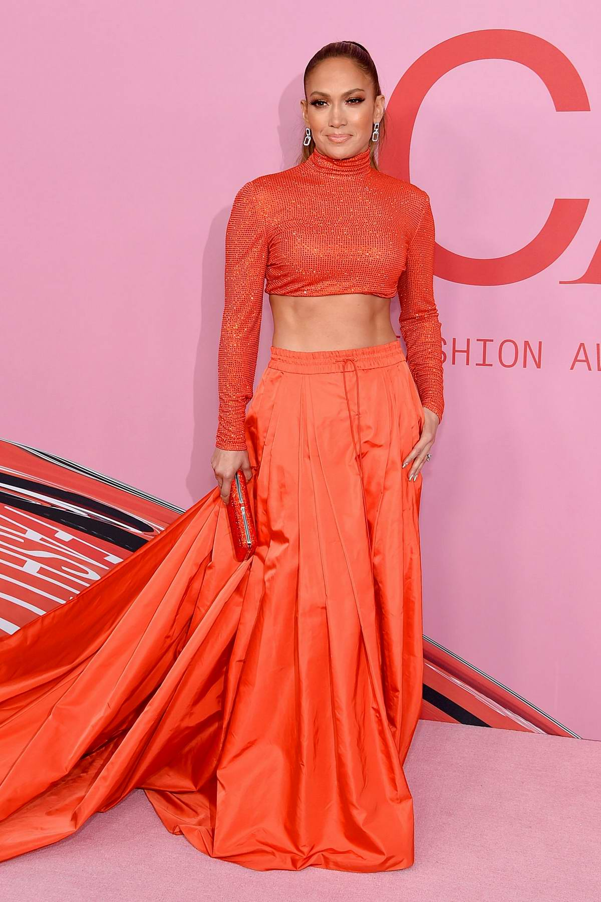 Jennifer Lopez attends the 2019 CFDA Fashion Awards at Brooklyn Museum in New York City