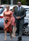 Jennifer Lopez joins Alex Rodriguez for his daughter's graduation in Miami, Florida