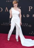 Jessica Chastain attends 'X-Men: Dark Phoenix' premiere at TCL Chinese Theatre in Hollywood, California