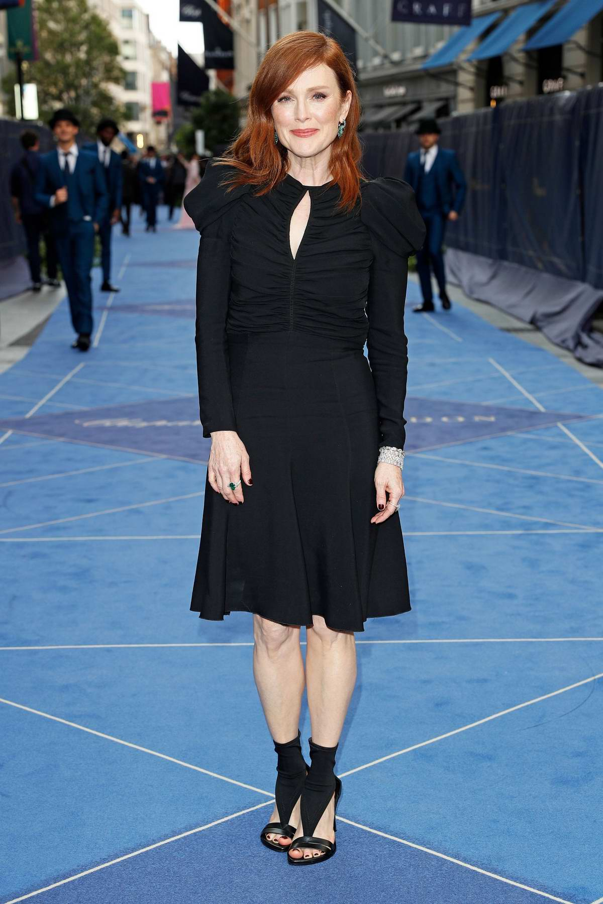 Julianne Moore attends the Chopard Bond Street Boutique Re-Opening in London, UK