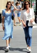 Kaia Gerber and Cindy Crawford seen out and about in New York City