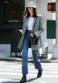 Kaia Gerber steps out wearing Prada bucket hat in New York City