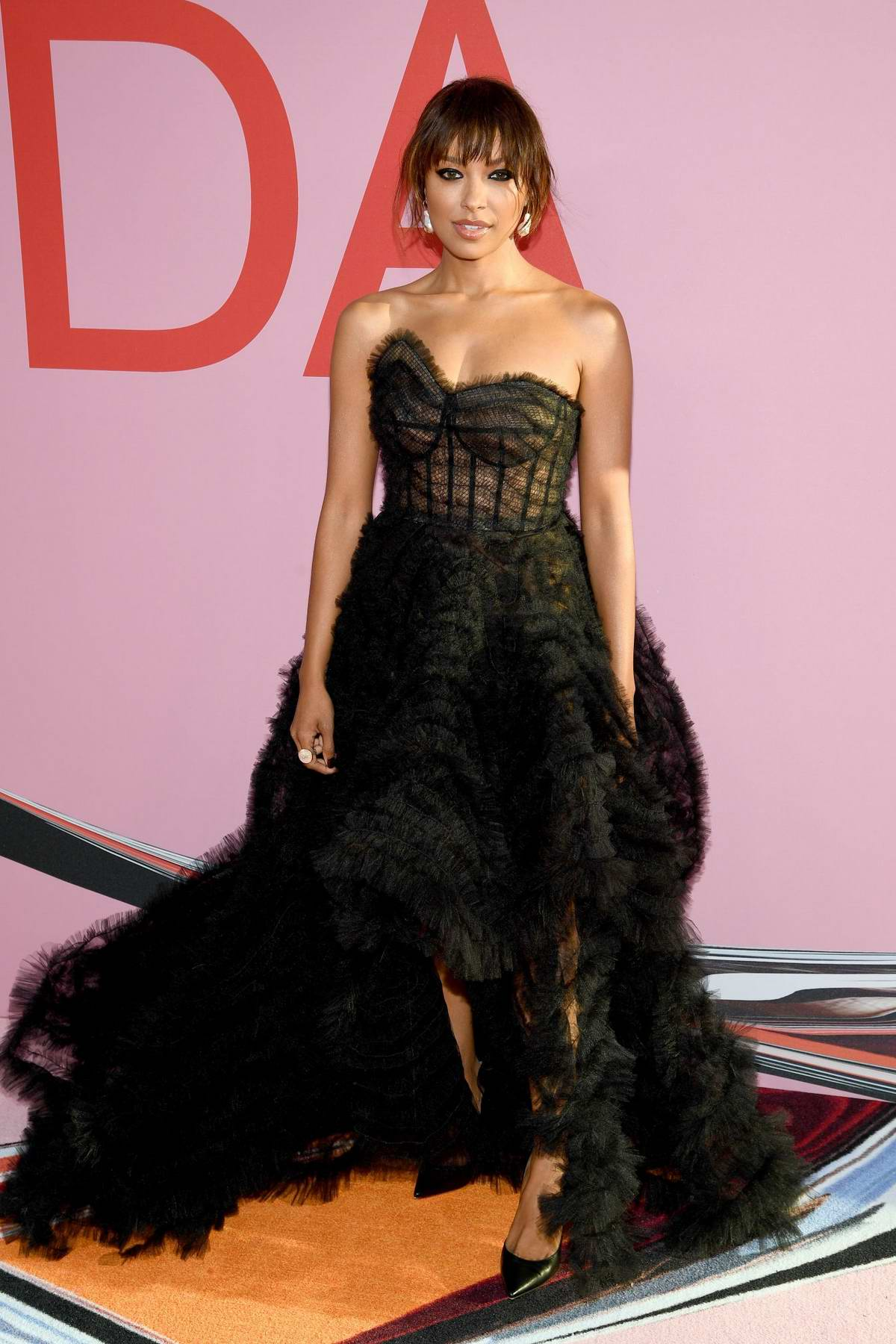 Kat Graham attends the 2019 CFDA Fashion Awards at Brooklyn Museum in New York City