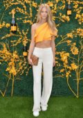 Kate Bock attends the 12th Annual Veuve Clicquot Polo Classic in Liberty State Park, Jersey City, New Jersey