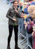 Kate Middleton visit Keswick Market place during a visit to Cumbria in Keswick, England, UK