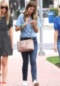 Katherine Schwarzenegger is all smiles while out shopping with her girlfriends in Los Angeles
