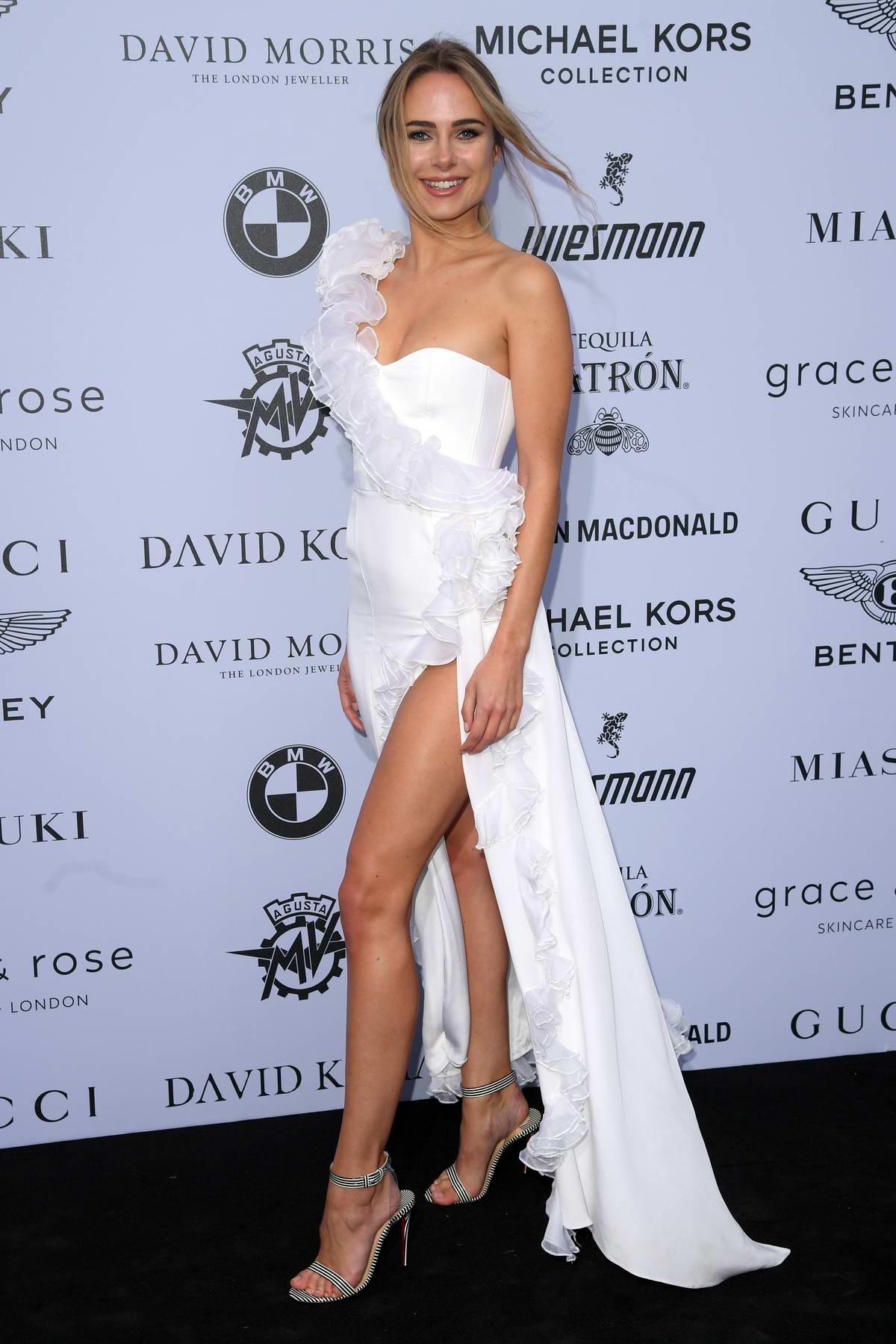 Kimberley Garner attends the Cash & Rocket Masquerade Ball & Auction Gala in London, UK