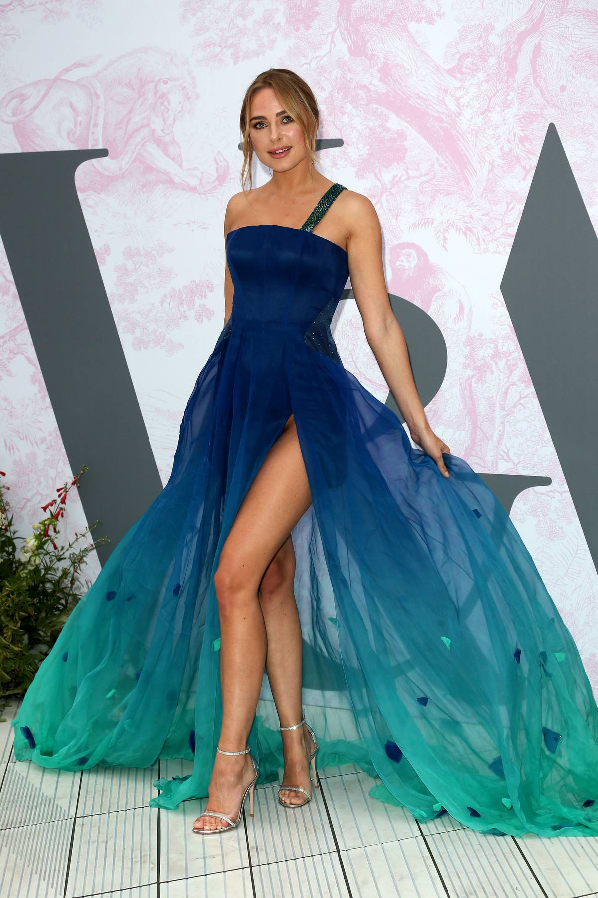 Kimberley Garner attends The V&A Summer Party 2019 in partnership with Dior in London, UK
