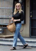 Kirsten Dunst looks happy as she leaves Lakeside Nail Spa in Toluca Lake, California