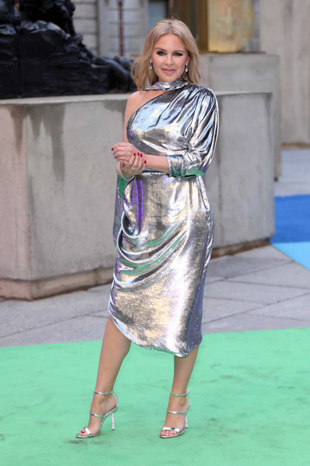 Kylie Minogue attends the Royal Academy of Arts Summer Exhibition Preview Party held at Burlington House in London, UK
