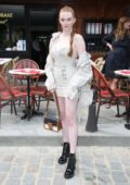 Larsen Thompson attends the Louis Vuitton Menswear Spring/Summer 2020 show during Paris Fashion Week in Paris, France