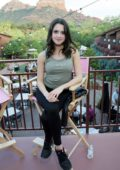Laura Marano at the Victoria's Secret PINK GRL PWR Retreat Unplugged event at Amara Resort and Spa in Sedona, Arizona