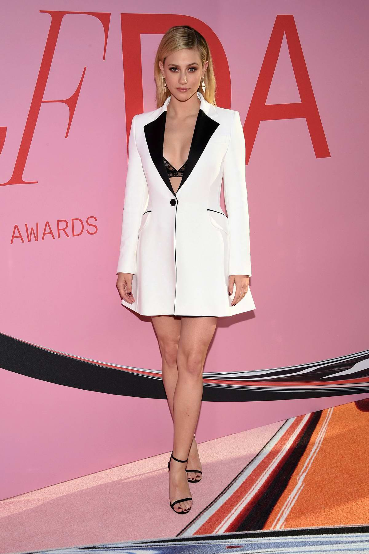 Lili Reinhart attends the 2019 CFDA Fashion Awards at Brooklyn Museum in New York City