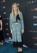 Lily Rabe attends the premiere of FX's 'Legion' Season 3 in Hollywood, California