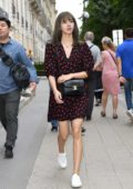 Lisa Manoban of Blackpink seen leaving Celine boutique during Menswear S/S 2020, Paris Fashion Week in Paris, France