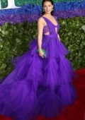 Lucy Liu attends the 73rd annual Tony Awards at Radio City Music Hall in New York City