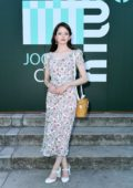 Mackenzie Foy attends Miu Miu Club event at Hippodrome d'Auteuil in Paris, France