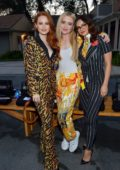 Camila Mendes, Madelaine Petsch, Kathryn Newton, Lana Condor at the Moschino Spring/Summer 2019 in Universal City, California
