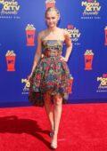 Madison Iseman attends the 2019 MTV Movie and TV Awards at Barker Hangar in Santa Monica, California