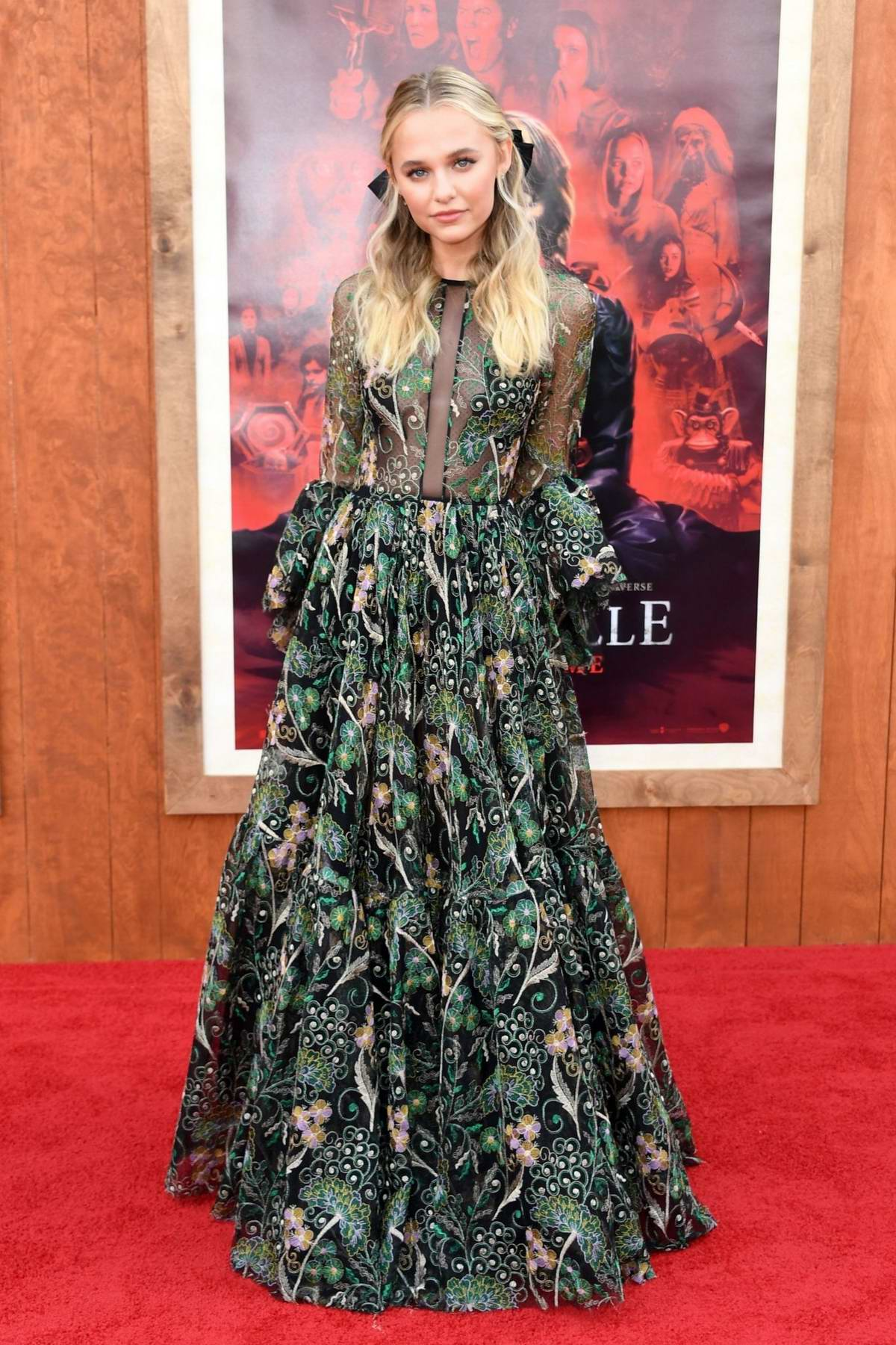 Madison Iseman attends the World Premiere of 'Annabelle Comes Home' at the Regency Village Theatre in Los Angeles