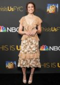Mandy Moore attends the 20th Century Fox Television and NBC Present 'This Is Us' FYC Event in Hollywood, California