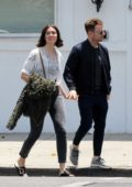 Mandy Moore steps out with Taylor Goldsmith in Los Angeles