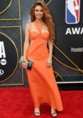 Maria Menounos attends the 2019 NBA Awards held at Barker Hangar in Santa Monica, California