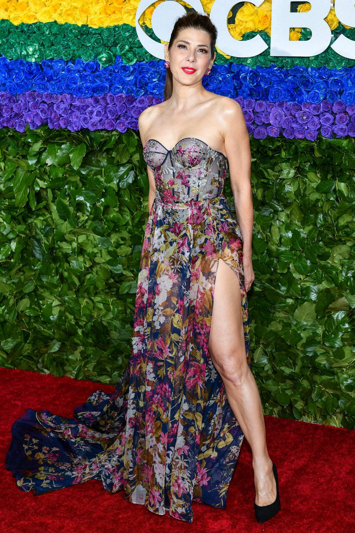 Marisa Tomei attends the 73rd annual Tony Awards at Radio City Music Hall in New York City