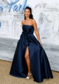 Maya Jama attends The Summer Party 2019 at Serpentine Gallery at Kensington Gardens in London, UK