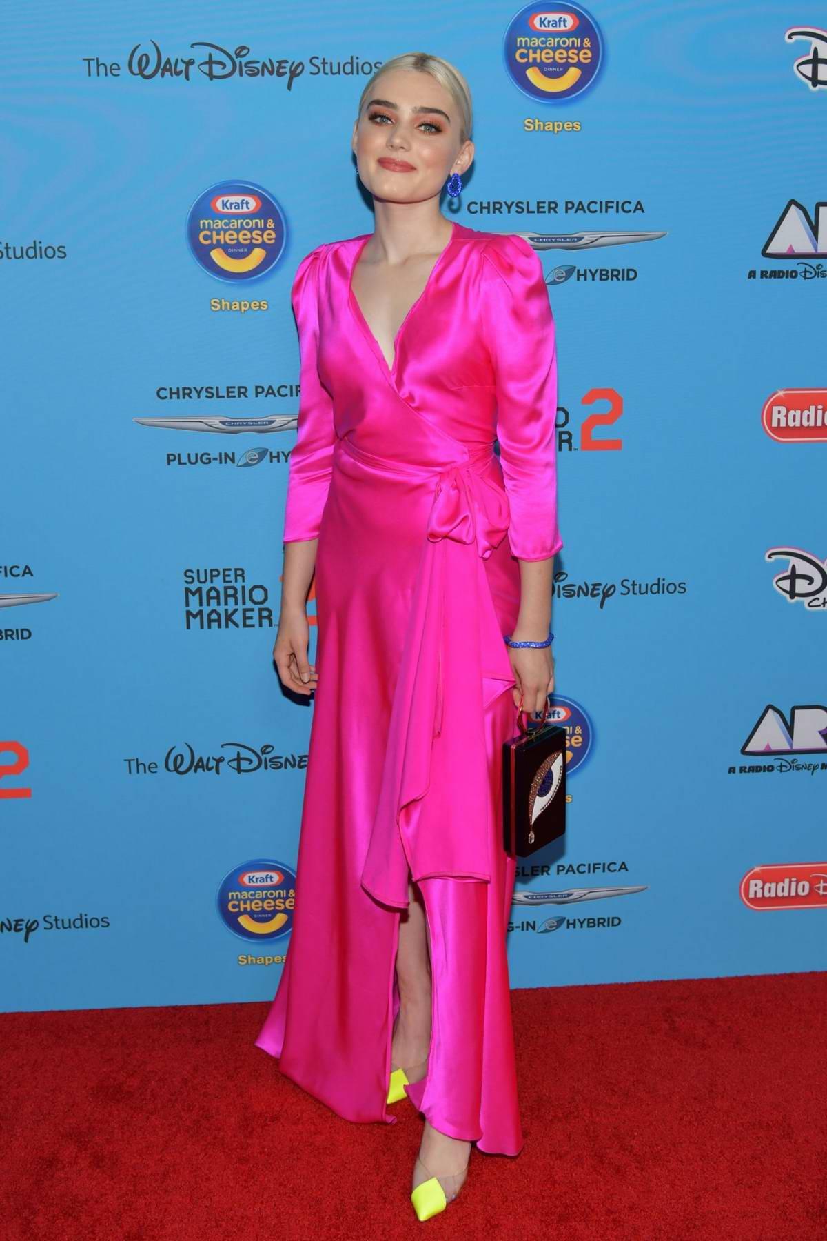 Meg Donnelly attends the 2019 Radio Disney Music Awards (ARDYs 2019) at the CBS Radford Studios in Studio City, California