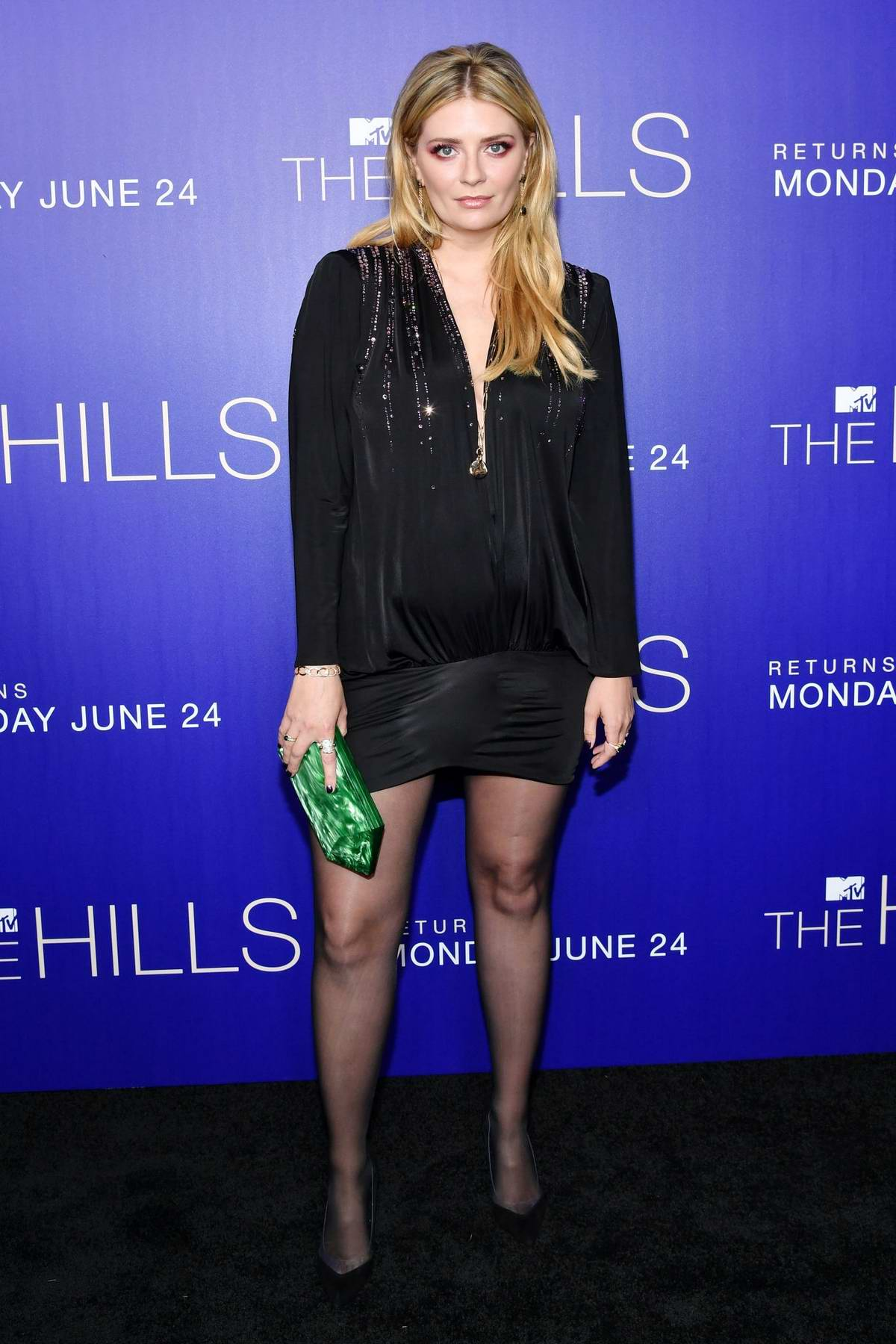 Mischa Barton attends the LA premiere of MTV's 'The Hills: New Beginnings' at Liaison in Los Angeles