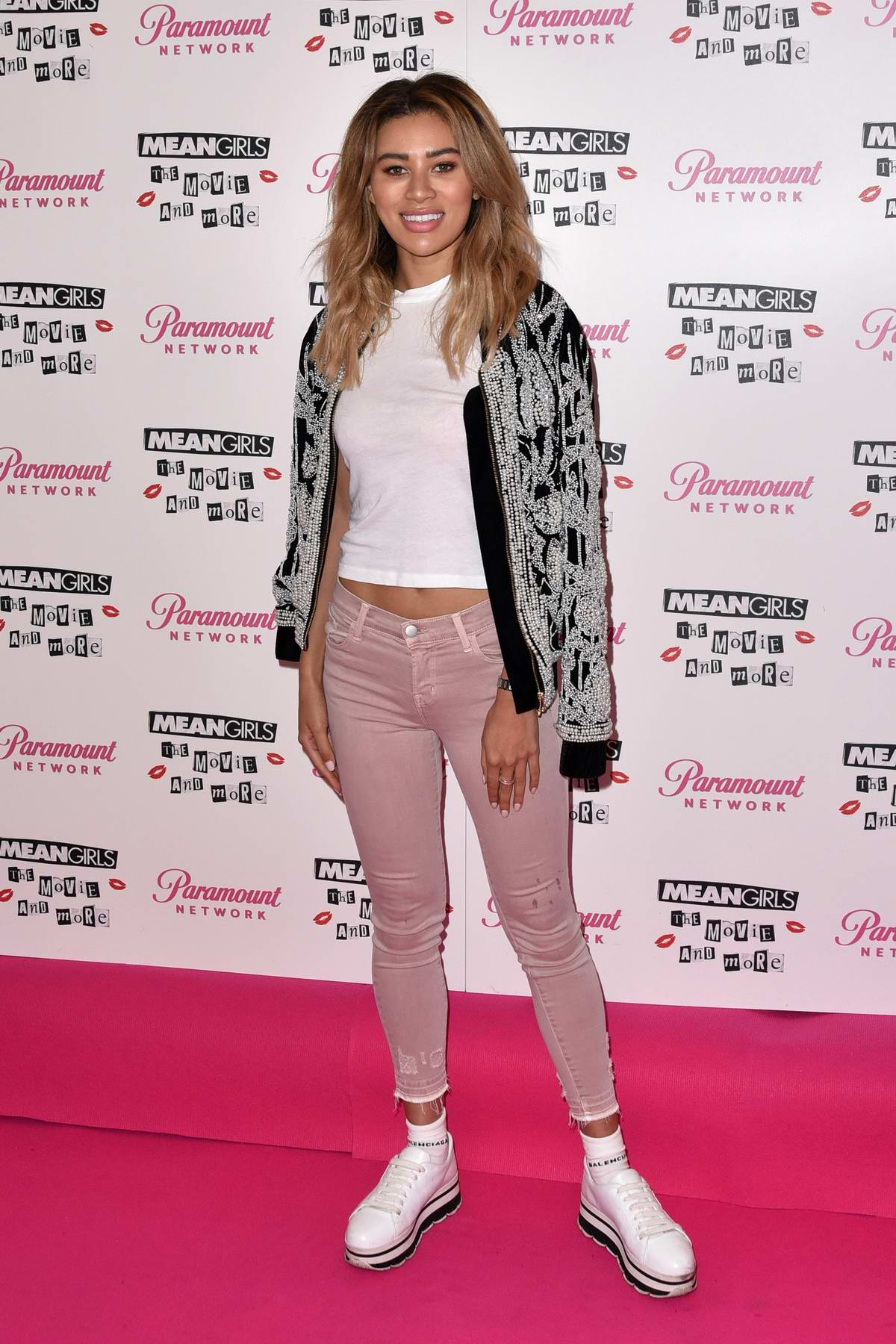 Montana Brown attends a screening event of 'Mean Girls: The Movie and More' in London, UK