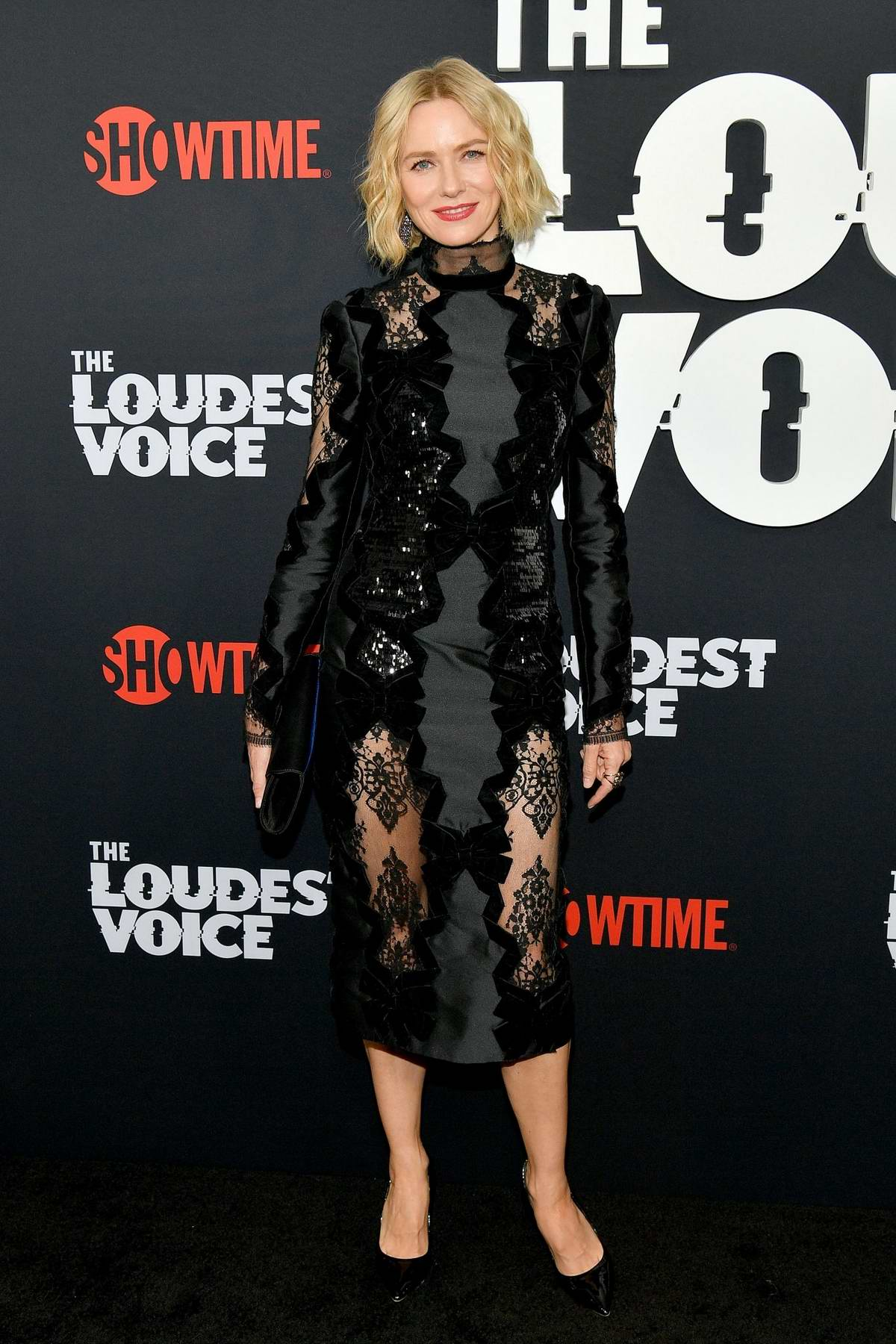 Naomi Watts attends 'The Loudest Voice' New York Premiere at Paris Theatre in New York City