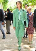 Natalia Vodianova attends the Berluti Menswear Spring/Summer 2020 show during Paris Fashion Week in Paris, France