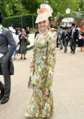 Natalie Dormer attends Royal Ascot 2019 Fashion - Day 3 in Ascot, UK