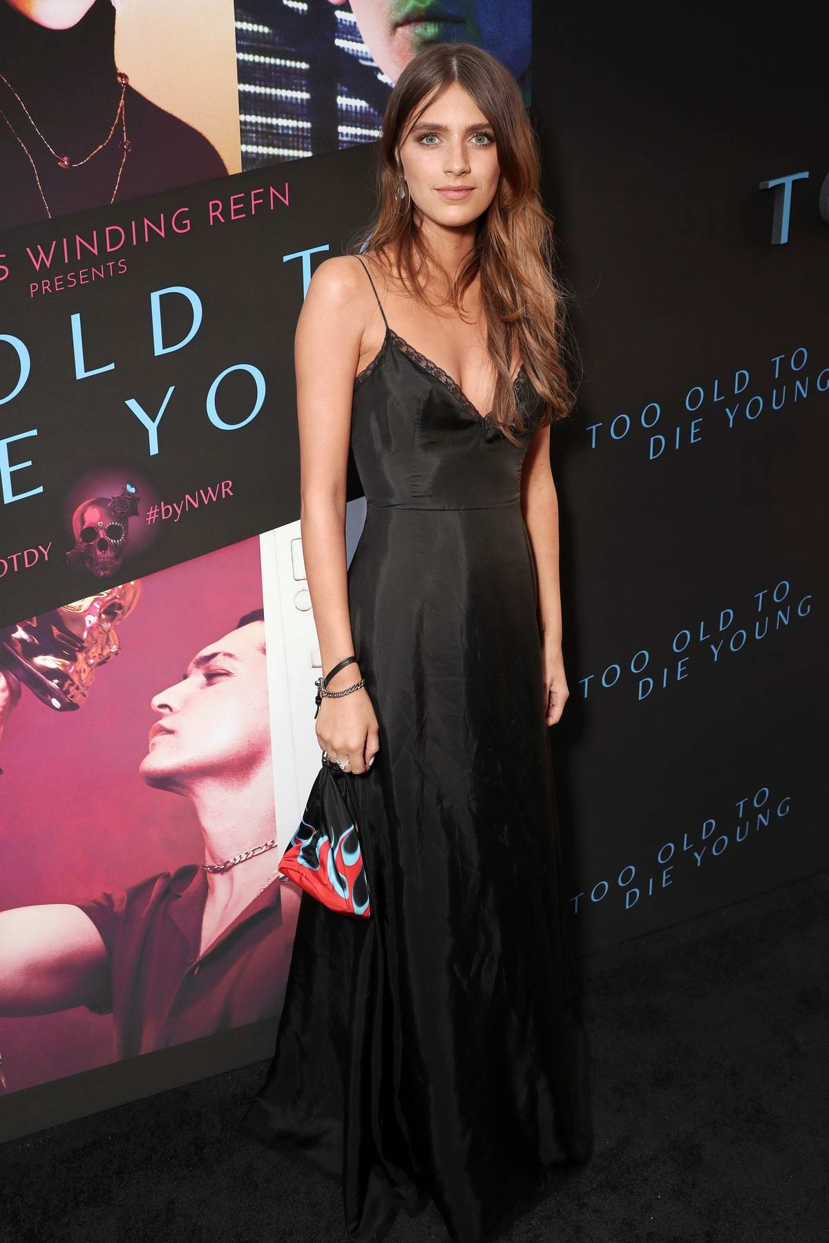 Nell Tiger Free attends the special screening of 'Too Old To Die Young' in Los Angeles