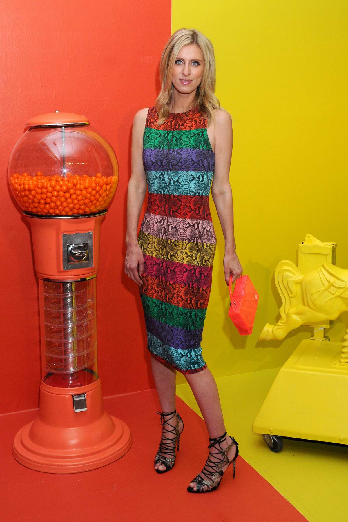 Nicky Hilton attends the Alice + Olivia World Pride Party in New York City