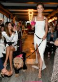 Nina Agdal attends Conair 'Knot-A-Real-Wedding' in honor of The Knot Dr. Detangling Brush in New York City
