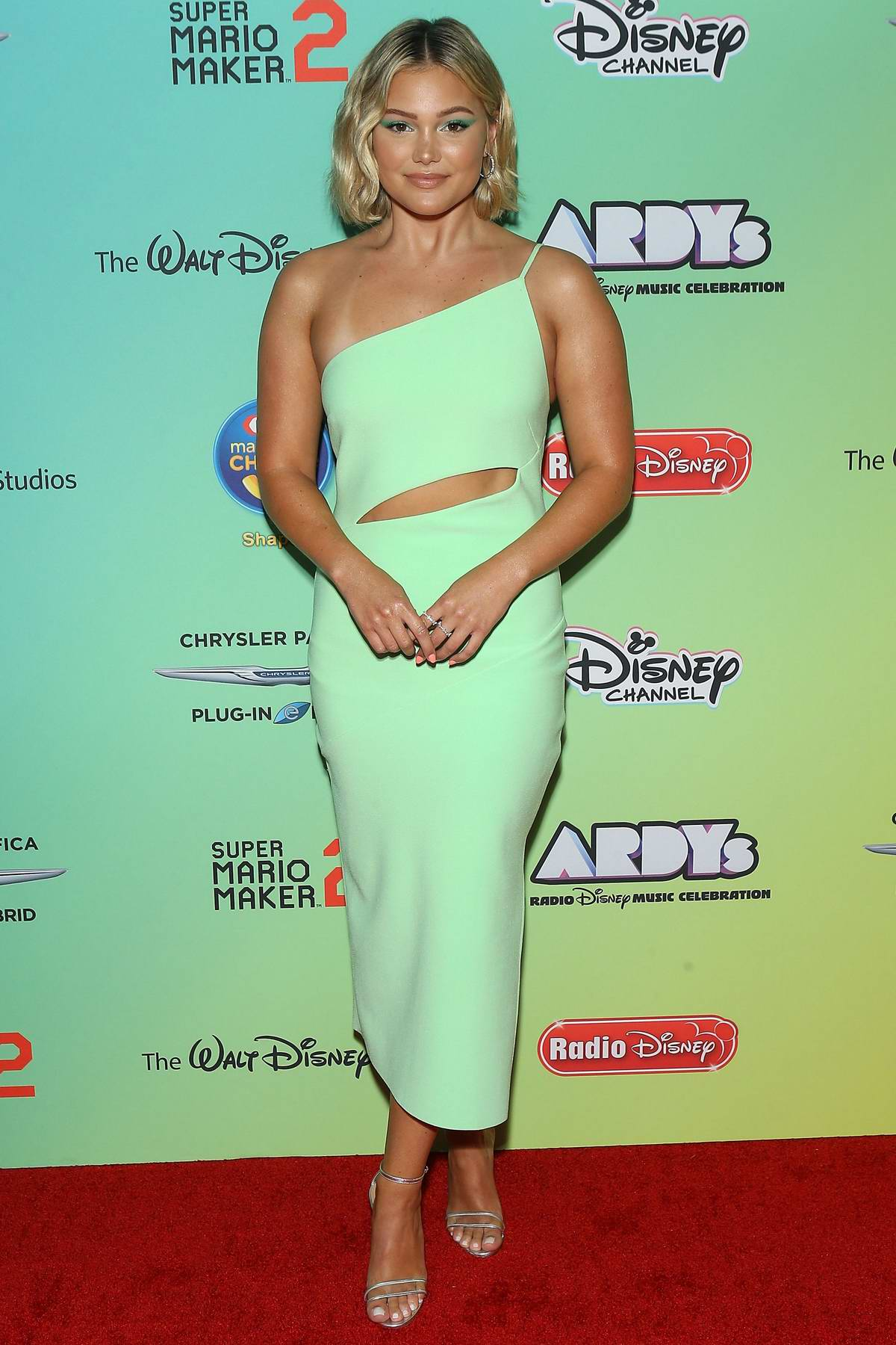 Olivia Holt attends the 2019 Radio Disney Music Awards (ARDYs 2019) at the CBS Radford Studios in Studio City, California
