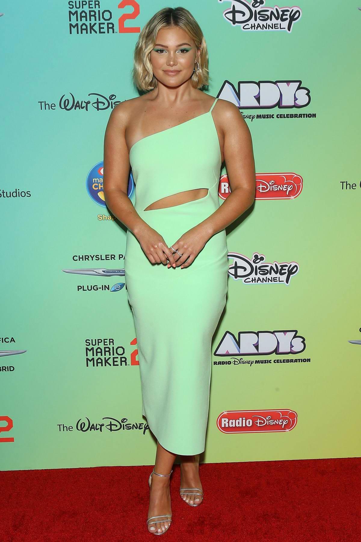 Olivia Holt attends the 2019 Radio Disney Music Awards (ARDYs 2019) at the CBS Radford Studios in Studio City, California